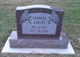 memorial markers single memorials r t monuments