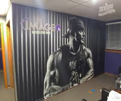 custom wall graphics denver print company our full color wide format printing allows for rich vibrant colors and photo realistic images they are great accent walls reception backdrops