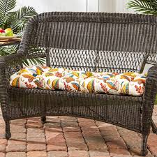 High Back Patio Chair Garden Bench Large Outdoor Cushions Outdoor Seat Cushions