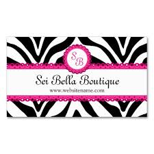 26 best pink zebra business cards images on pinterest business