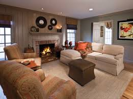 Lived In - Comfortable family room furniture