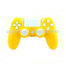 ps4 controller white light high light yellow shell for ps4 controller with white buttons buy
