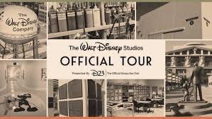 picture studios the official walt disney studios tour gold family exclusive d23