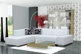 canapé d angle blanc cuir canapé angle gauche convertible en pvc blanc canapé angle gauche