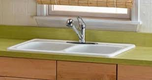 how much does a cast iron sink weigh installing kitchen sinks home improvement and repair solution