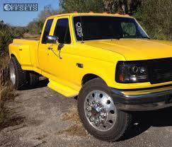 Classic Ford Truck Tires - wheel offset 1995 ford f 350 flush leveling kit custom rims