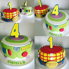 Buzz Lightyear Centerpieces by Woody And Buzz Toy Story Cakes Toy Story Party Pinterest