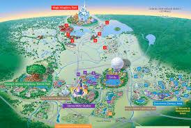 Map Of Epcot Wdw Park Maps Wdwprince