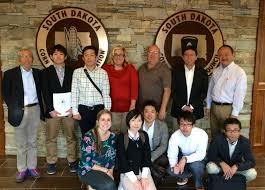 chancellor sd poet sd corn hosts japanese grain buyers south dakota corn