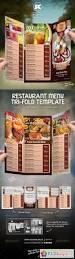 tri fold restaurant menu template 5735353 free download