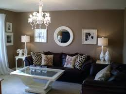 warm blue and brown living room decor blue basement living room