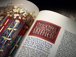 quotes from the bible justice the art of illumination a modern bible uses medieval techniques