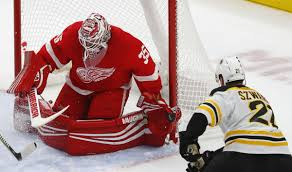 Longhorn Steakhouse St Cloud Mn Frk Nielsen Score 2 Each As Red Wings Beat Bruins 5 1 National