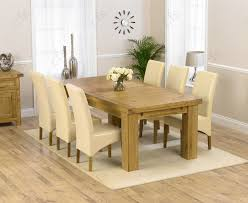 Oak Extending Dining Table And 4 Chairs with Buy Mark Harris Cheyenne Oak And Cream Oval Extending Dining Set