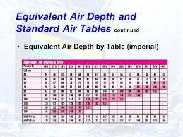 depth and table unit 1 what is nitrox is it better than air do you need it ppt