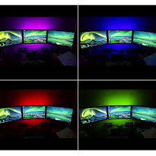 multicolor rgb led strip accent lighting kit torchstar