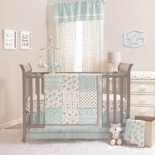 Gray Elephant Nursery Decor by Baby Crib Bedding