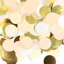 gold foil tissue paper ivory with gold foil tissue paper confetti pipii