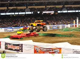 monster truck show anaheim stadium monster truck at angel stadium editorial stock image image 12599444