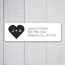 wedding invitations return address wedding invitation mailing labels address labels to match your