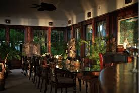 The Dining Room At Little Palm Island by Musha Cay At Copperfield Bay Bahamas Villa Rental Wheretostay