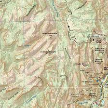 Utah Topo Maps by St George Springdale Utah Trail Map U0026 Guide Adventure Maps