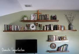 pre blog living room floor u0026 shelves domestic imperfection