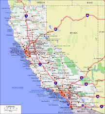 california map in usa maps of california