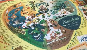 disney parks map maps of the disney parks finding your way through history book