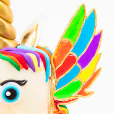 rainbow unicorn cake w isomalt wings recipe