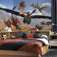26 wall decals for toddler boy room dump trucks and diggers for a your dragon prepasted wallpaper mural boys room wall decor ebay