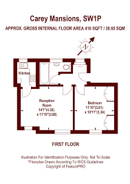 westminster abbey floor plan 1 bedroom rutherford street westminster london sw1p property
