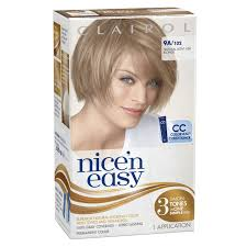Best Otc Hair Color For Gray Coverage Nice N Easy Permanent Color Natural Light Ash Blonde 102 1