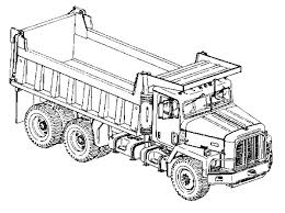 dump truck coloring pages dumping coloringstar