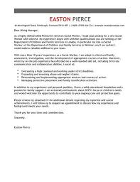 social services cover letter examples u0026 templates livecareer
