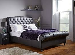 Cheap Leather Bed Frame Popular Leather Bed Frame Regarding Name Ifuns Luxury Bedroom