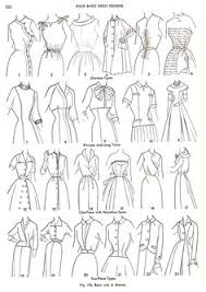 guide to vintage collars and necklines you can find the guide to