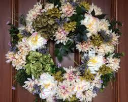 summer door wreath etsy
