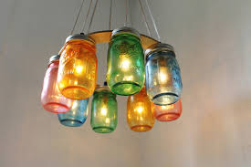 furniture comely home lighting decoration using canning jar lamps