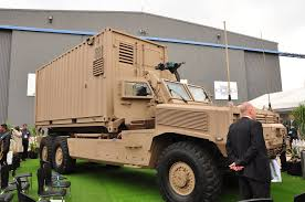 paramount mbombe denel vehicle systems unveils demonstrator of africa truck