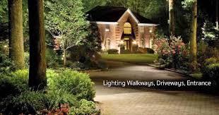 Lighting Landscape Outdoor Landscape Lighting For The Garden Ideas Planning And