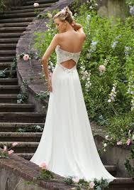 chiffon wedding dresses beaded mori madeline gardner bridal embroidery on