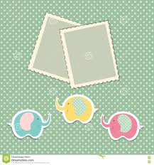 Baby Shower Card Invitations Romantic Scrap Booking Template For Invitation Greeting Baby