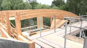 Frame House Contemporary Design Custom Timber Frame House Youtube