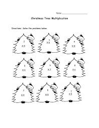 christmas math activities xmas tree addition subtraction koogra