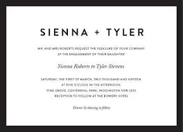 minimal digital printing engagement invitations