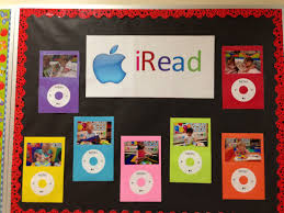 my september bulletin board i took pictures of my babies reading
