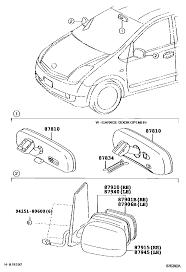 toyota prius parts cutaway or diagram for replacing mirror priuschat