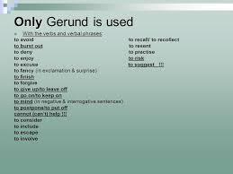 verb pattern prevent infinitive vs gerund ppt video online download