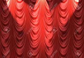 Curtains On A Stage Luxurious Red Velvet Curtains Such As On A Stage Or Theatre With